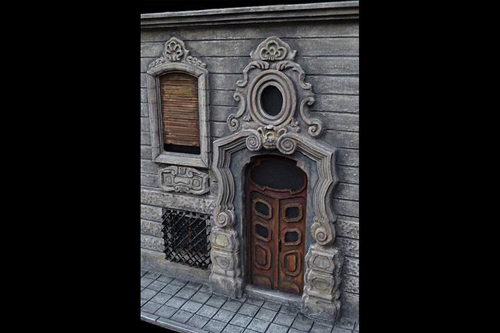 Maketa-Beogradske-fasade-studentkinja-Jovana-Pesic-predmet-maketarstvo-scenografija